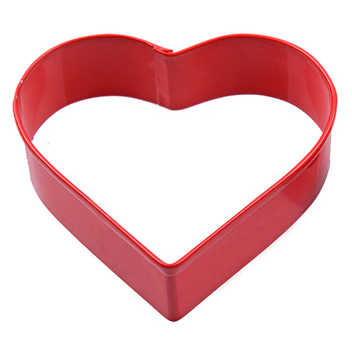 Heart Cookie Cutter Red 8cm