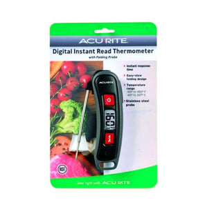 Digital Instant Read Folding Probe Thermometer Acurite
