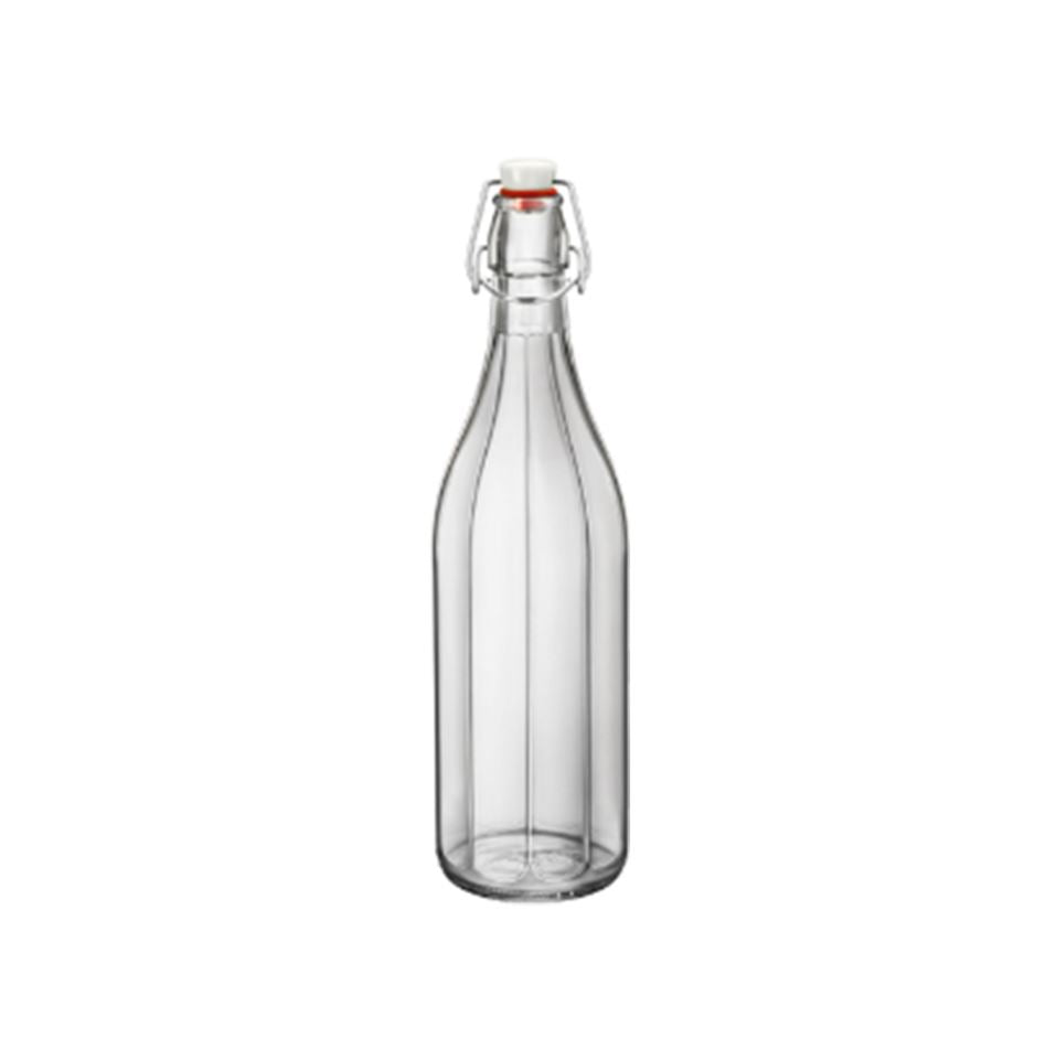 Bormioli Round Bottle 1L Clear