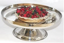 Load image into Gallery viewer, Flair Hammered Cake Stand