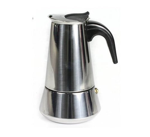 STAINLESS STEEL ROMA 10 CUP ESPRESSO MAKER