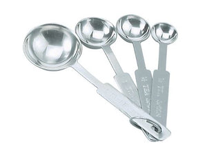 Measure Spoons Set of 4 Stainless Steel