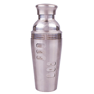 Cocktail Shaker 750ml Dial Drinks Bartender