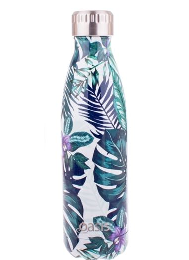 OASIS DRINK BOTTLE TROPICAL LEAF 500ML