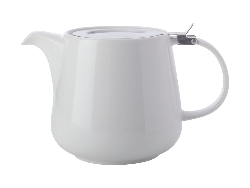 Maxwell & Williams White Basics Teapot with Infuser 600ml Gift Boxed