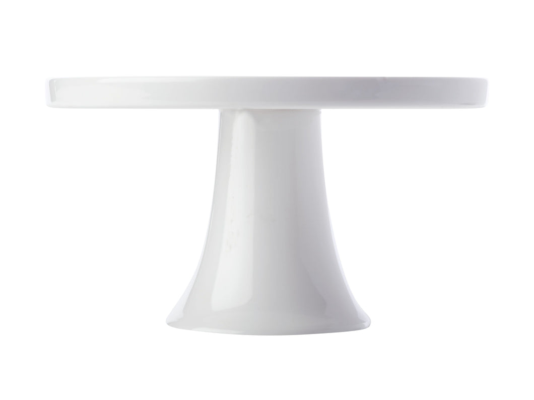 Maxwell & Williams White Basic Footed Cake Stand 20cm Gift Boxed