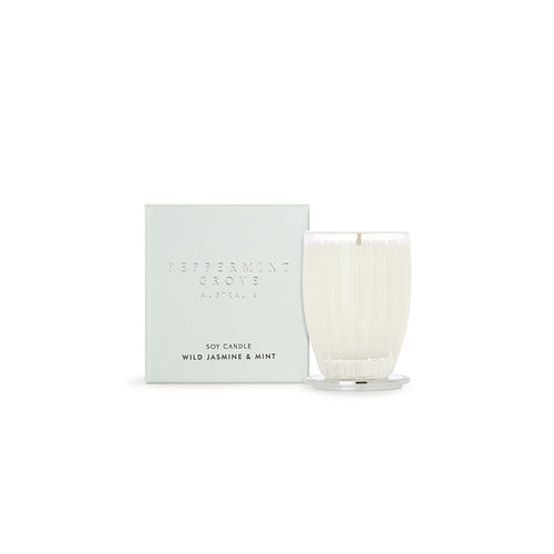 Peppermint Grove Candle Wild Jasmine Mint Small