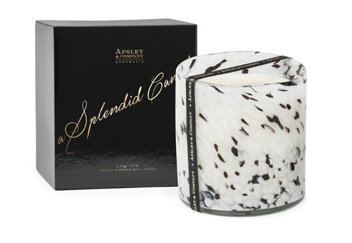 Apsley & Company Luxury Candle Santorini 10cm 50 hours 400gm