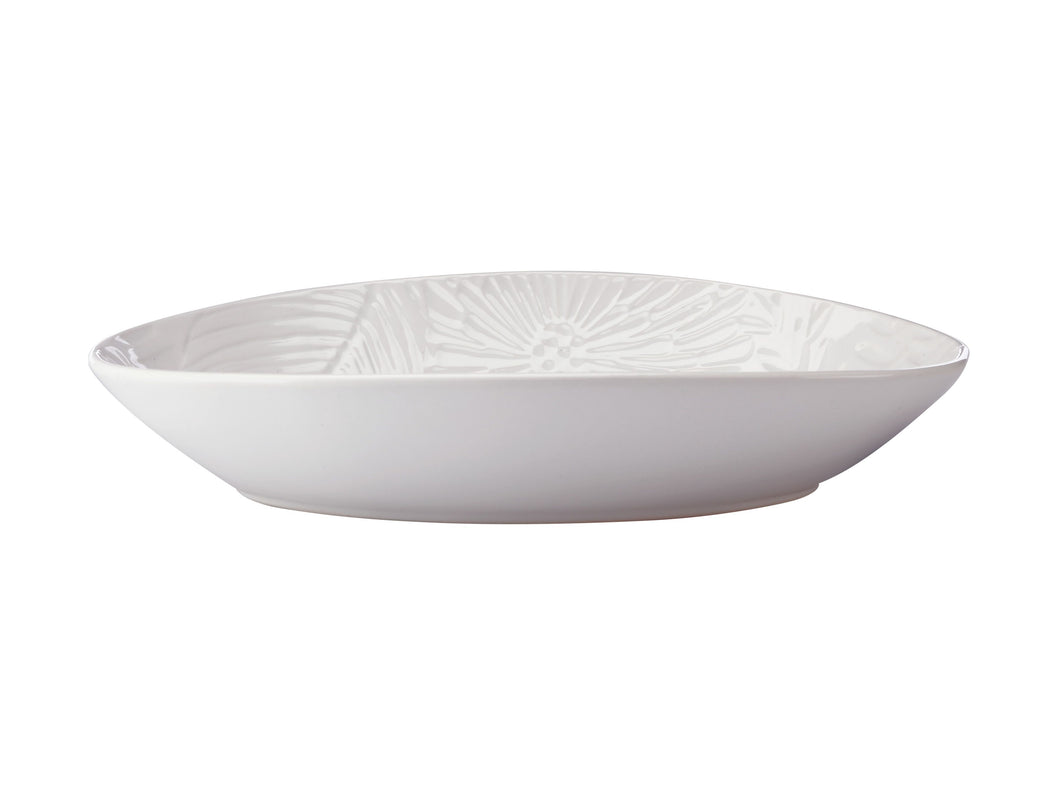 Maxwell Williams Panama Oval Bowl 24x17cm White