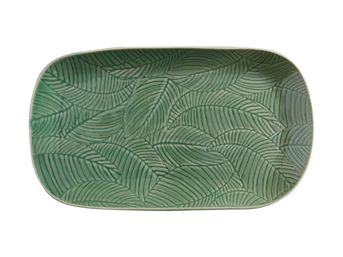 Maxwell Williams Panama Oblong Platter 34x19cm Kiwi