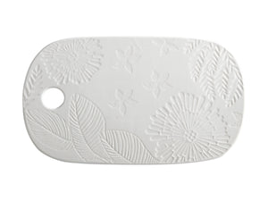 Maxwell Williams Panama Cheese Platter 40x23cm White