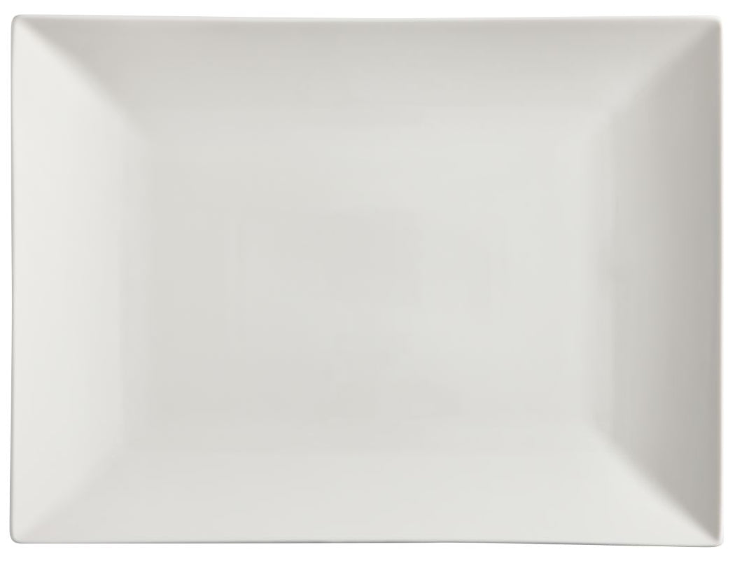 Maxwell & Williams White Basics Linear Rectangular Platter 40x30cm GB