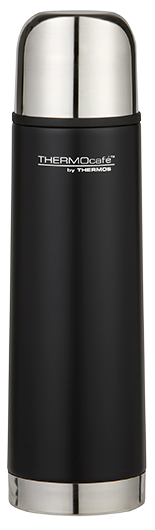 Thermos Cafe Stainless Steel Flask 500ml Matte Black