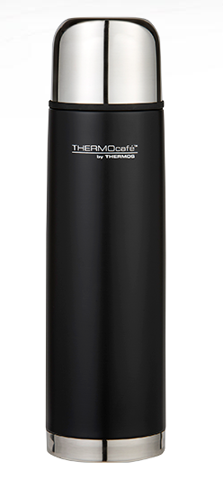 Thermos Cafe Stainless Steel Flask 1L Black