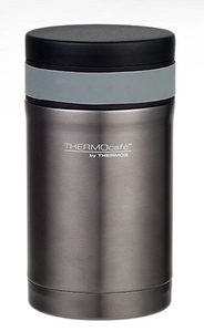 Thermos Cafe Food Flask 500ml Smoke