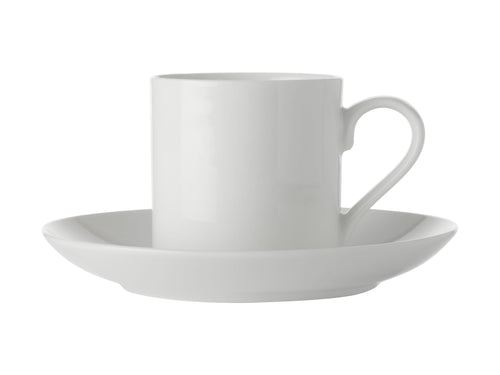 Maxwell Williams White Basis Straight Demi Cup & Saucer