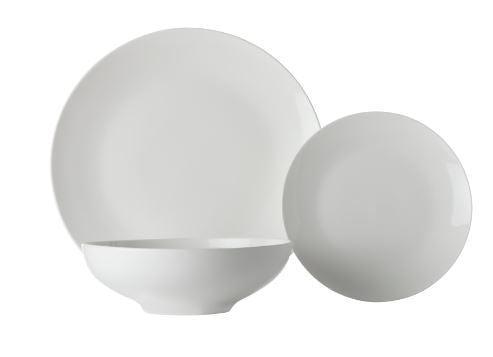 Maxwell & Williams White Basics Tribeca Coupe 12 Pce Dinner Set