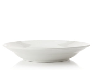 Maxwell Williams White Basics Rim Soup Bowl Plate 30cm