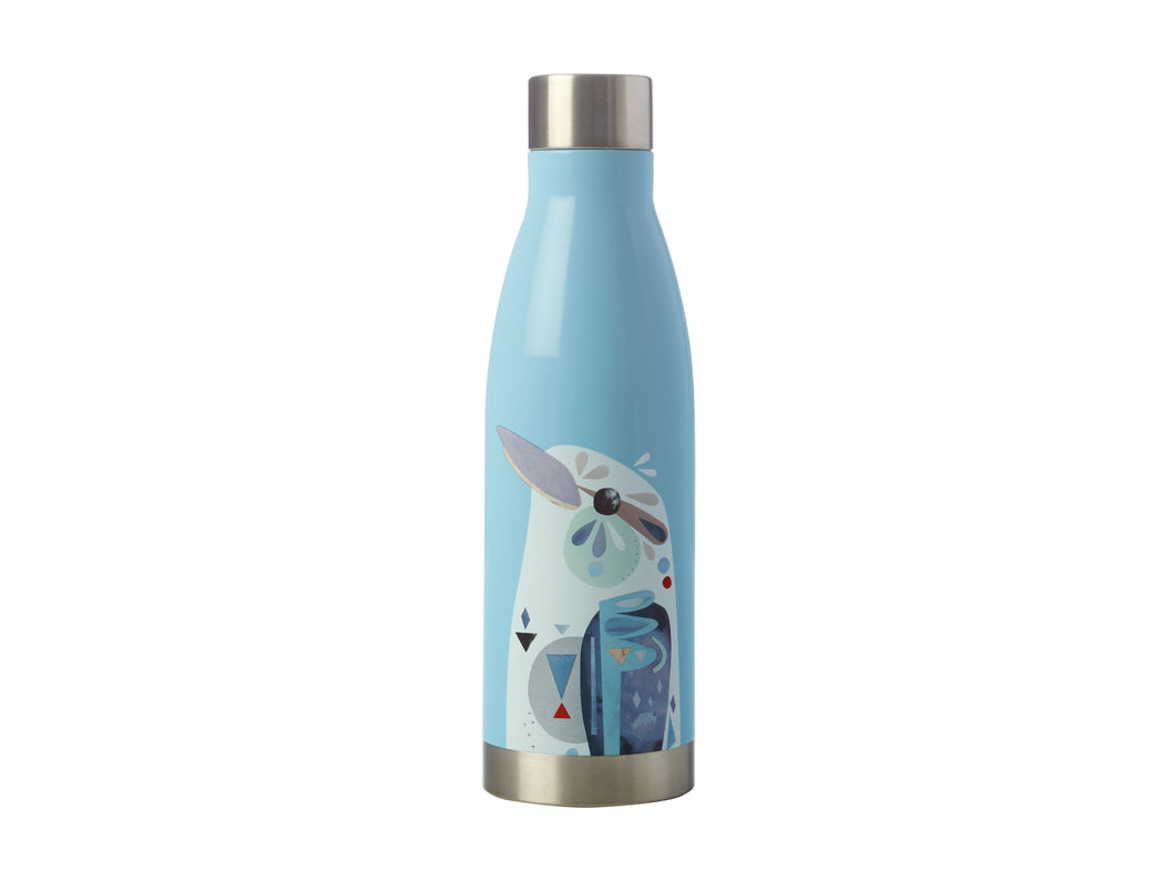 Maxwell & Williams Pete Cromer Insulated Drink Bottle Sugar Kookaburra