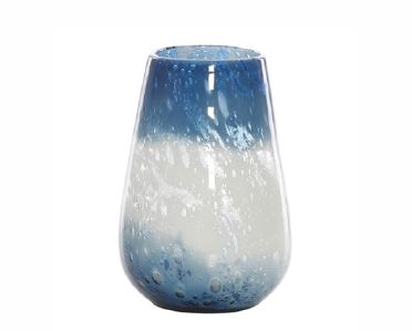 Portsmouth Vase Blue & White - Medium