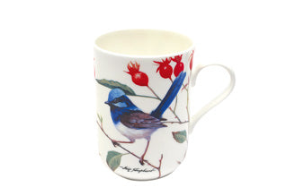 Maxwell & Williams Birds of Australia Blue Wrens Mug