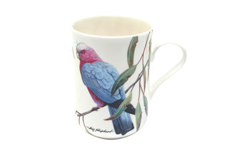 Maxwell & Williams Birds of Australia Pink and Grey Galahs Mug