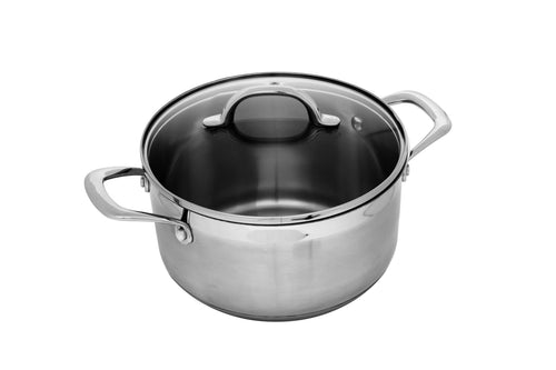 Swiss Diamond Premium Steel Cook Pot 20x413cm 4L