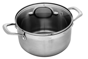 Swiss Diamond Premium Steel Cook Pot 24x13.5cm 6.2L