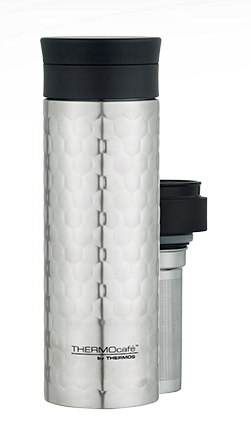 Thermos Cafe Stainless Steek Vacuum Insulated Tea Infuser 450ml
