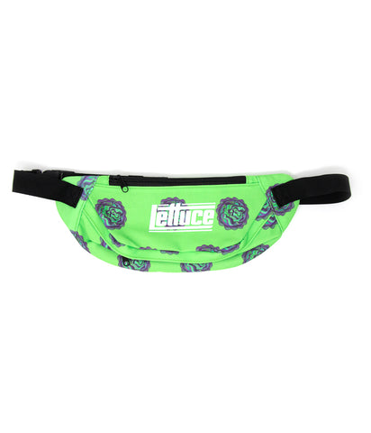 Lettuce Allover Print Fanny Pack
