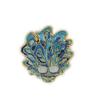 Lettuce Sparkle Head Pin (Lt. Blue, Ltd to 200)