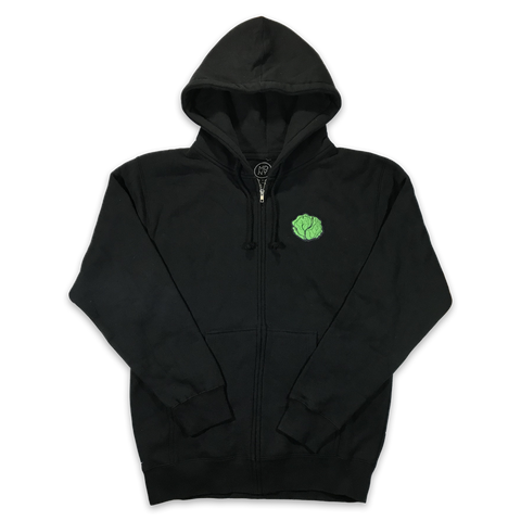 Lettuce Zip Hooded Sweatshirt
