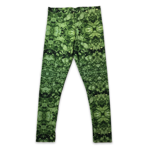 Lettuce Womens Camo Pattern Leggings