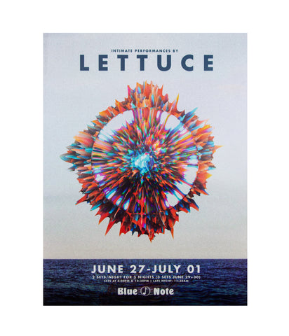 Lettuce Blue Note Jazz Club 2018 Poster