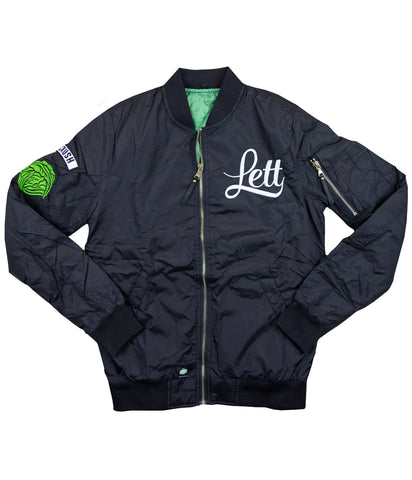 Lettuce Crush Womens Bomber Jacket
