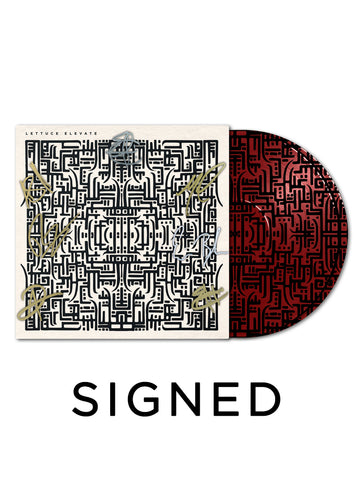 Lettuce - Elevate Limited Edition Picture Disc Vinyl (Red) (Signed)