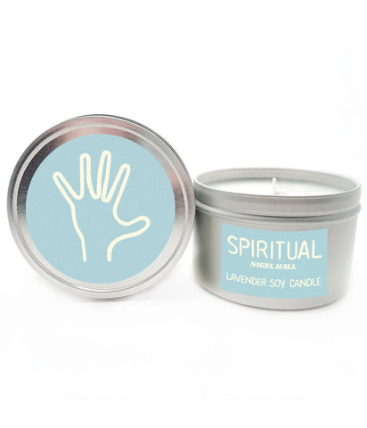 Nigel Hall Spiritual Lavender Scented Candle **PREORDER - SHIPS MAY 14