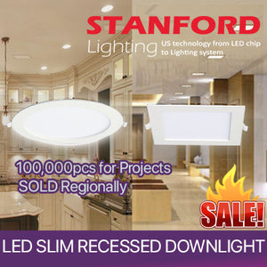 ★US BRAND★ LED  Recessed Slim Downlight (Round/ Square)★ Super Slim★