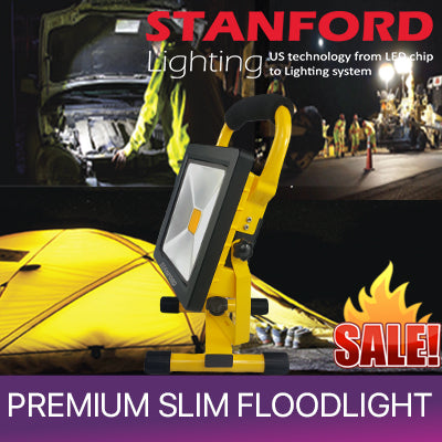 ☆LED Portable Slim Flood Light ☆ Six Months Local Warranty☆