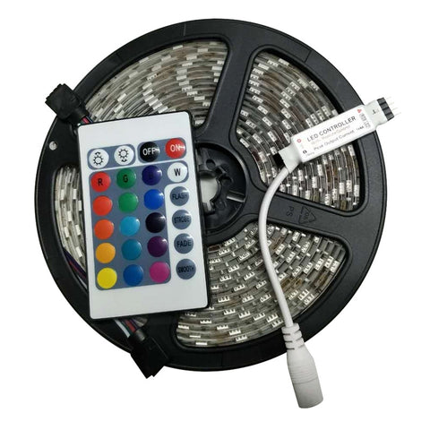 Waterproof LED Strip +  Remote Controller