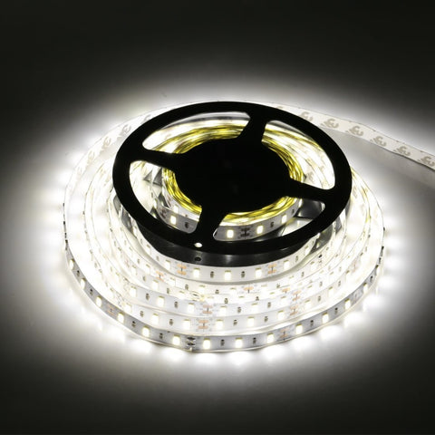 LED Strip Light 5630 DC12V 5M 300led 6W/M Flexible 5730 Bar Light High Brightness Non-Waterproof Indoor Home Decoration