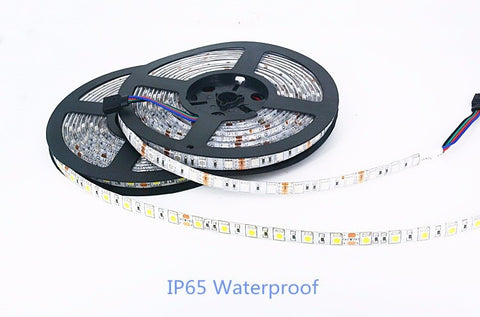 Waterproof LED Strip 5050 24V RGB WarmWhite DC 5 12 24 v volt 5 meter