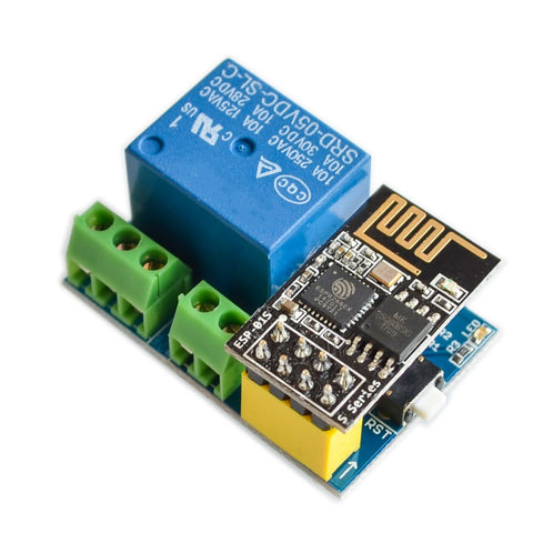 5V WiFi relay module Things smart home remote control switch phone APP DHT11 Temperature