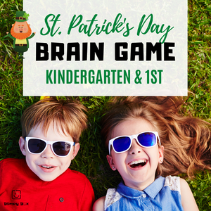 St. Patrick's Day Brain Game for kids