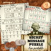 Money Secret Message Puzzle - Adding Coins