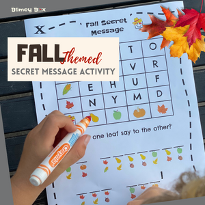 Fall Secret Message Activity