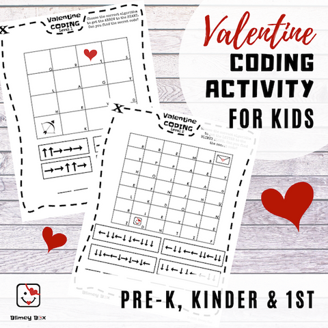 Valentine Coding Activity for Kids