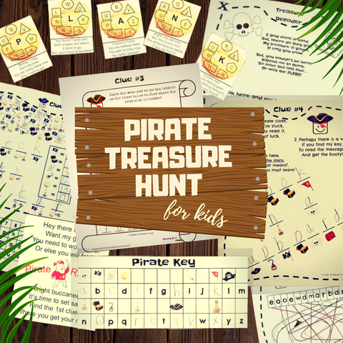 Pirate Treasure Hunt for kids