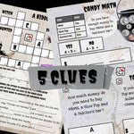 Halloween Treasure Hunt | Printable Treasure Hunt for Kids | Ages 5-10