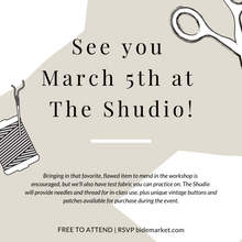 "Load image into Gallery viewer, ""Threaded Thursday"" at The Shudio 